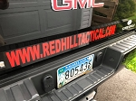 WWW.REDHILLTACTICAL.COM Reflective Vinyl Sticker - Large