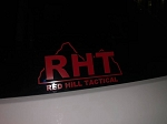 Red Hill Tactical Logo Transfer Sticker - small