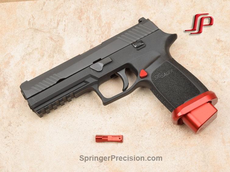 Springer Precision Sig 320 Extended Magazine Release