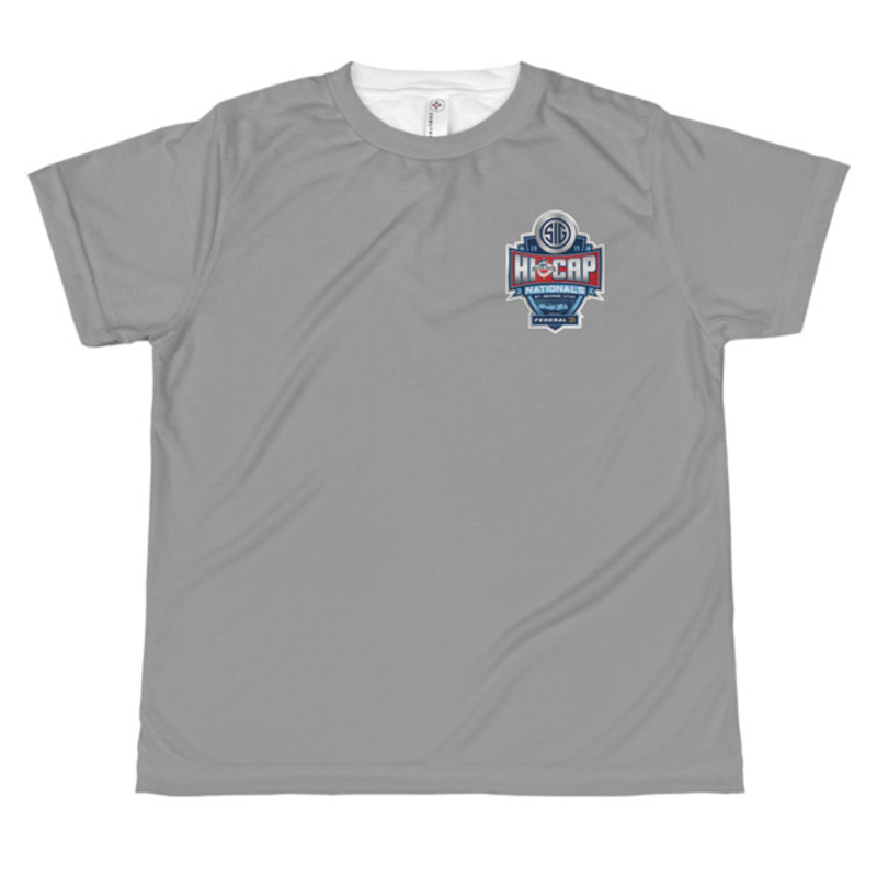 USPSA Hi Cap Nationals All-over youth sublimation T-shirt