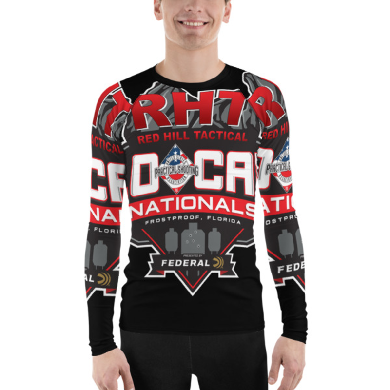 USPSA LO Cap Men's Rash Guard
