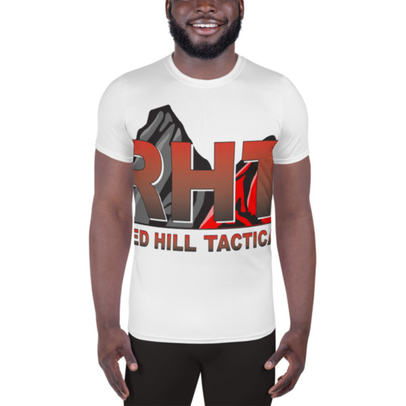 RHT All-Over Print Men's Athletic T-shirt