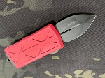 Microtech Exocet Standard Red Handle