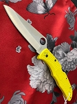 Spyderco Pacific Salt 2 Plain Yellow