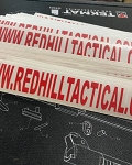 Red Hill Tactical Vinyl Sticker - small