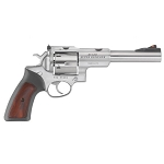 Ruger SUPER REDHAWK 10MM 6.5 Stainless Steel RUBBER/WOOD