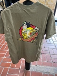 RHT Prairie Dust Bomber Shirt Pin Up