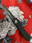 Microtech U.T.X. 85 Black S/E DLC Coated