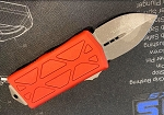 Microtech Exocet Red with Apocalyptic Blade