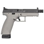 CZ P10F Gray with Suppressor Ready Configuration with holster