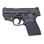 Smith and Wesson M&P 2.0 Shield 9mm with Crimson Trace and IWB Holster
