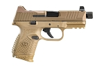 FN 509 Compact Tactical FDE 9mm 10 round mag