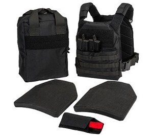 T3 Active Shooters Bag With HESCO Plates