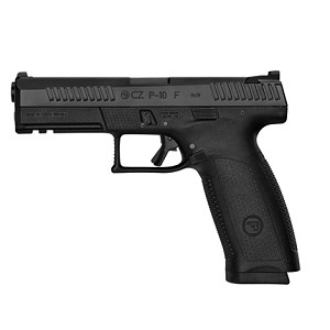 CZ P10F Black with holster