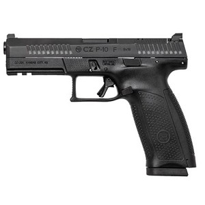 CZ P10F Black Optics Ready with Holster