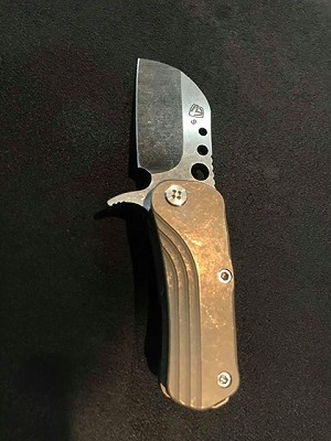 Medford Knife and Tool Chunky Monkey - Bronze Anodized