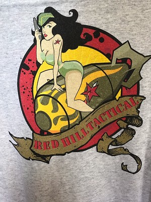 RHT Pin Up Girl T-shirt